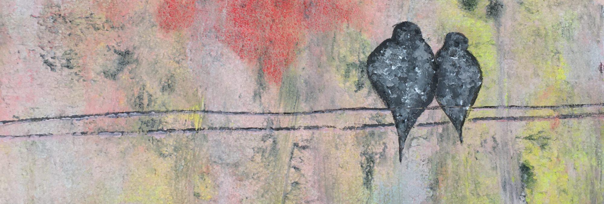 Arte Julia Del Valle Pintura Abstracta Acuarela Y